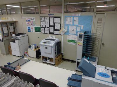 印刷機、その他作業機器が利用できます☆